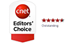 cnet 4 stars Editor's choice