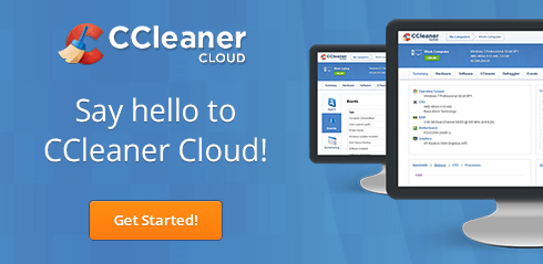 Say hello to CCleaner Cloud
