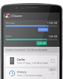 Screenshot of CCleaner for Android