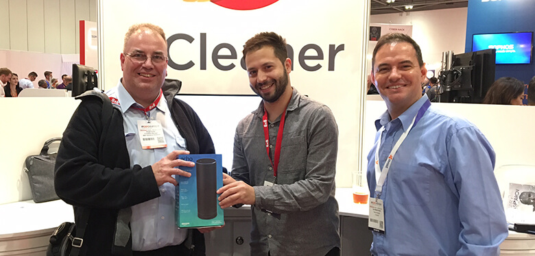 A CCleaner prize winner at IP Expo