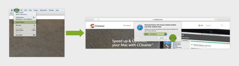 CCleaner com - How to clear cookies from your browser