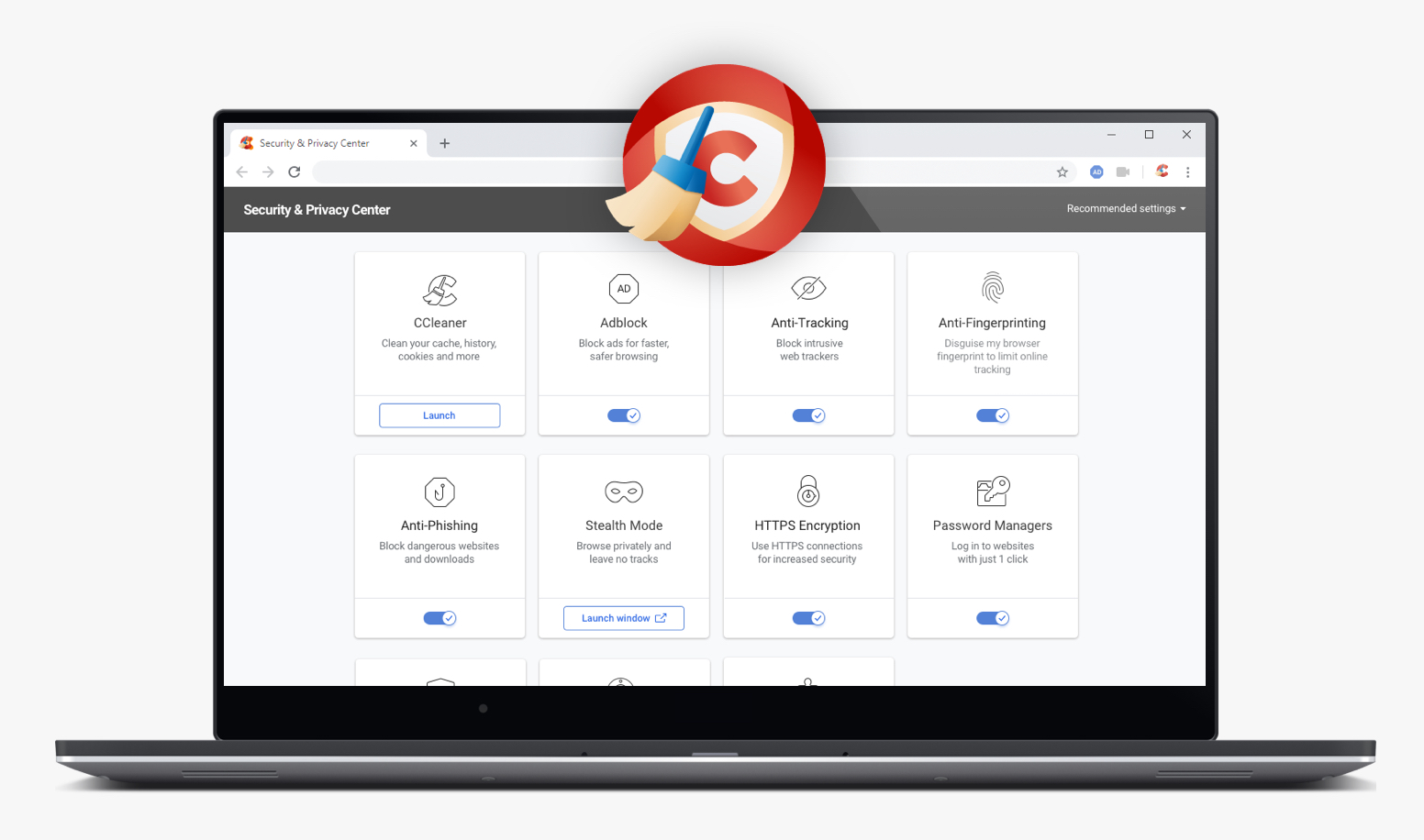 CCleaner Browser Preview