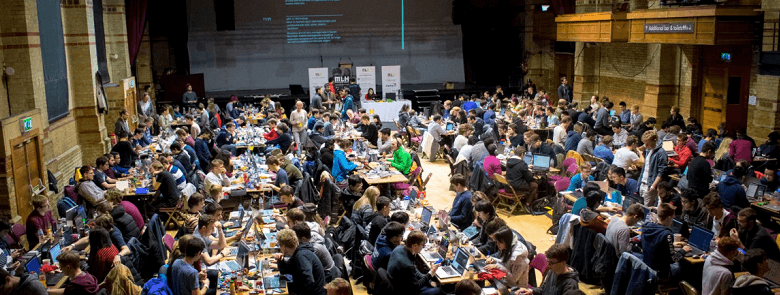 We're challenging the world's best tech students at Hack Cambridge!