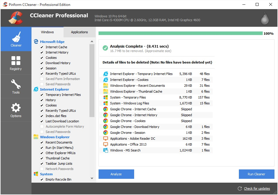 While using CCleaner Professional plus crack with license key, it freeing up the valuable space on the hard disk. It also cleans the browsing history of your internet browser. Additionally, the registry cleaner is also there. Therefore, It is the choice of millions of people.