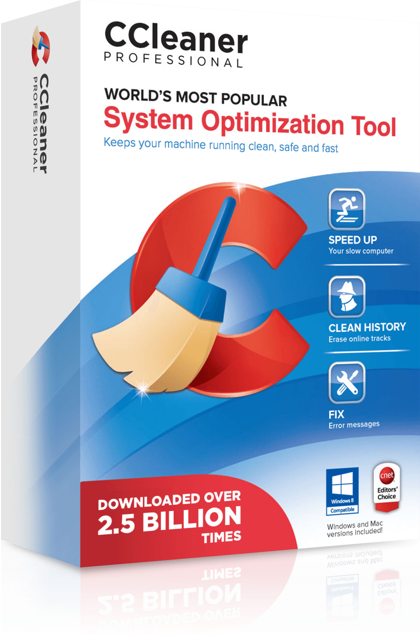 CCleaner Professional product box