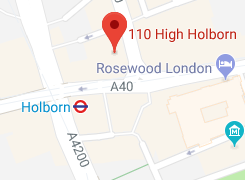 Map of the London office