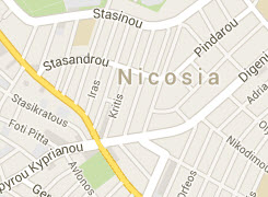 Map of Nicosia office